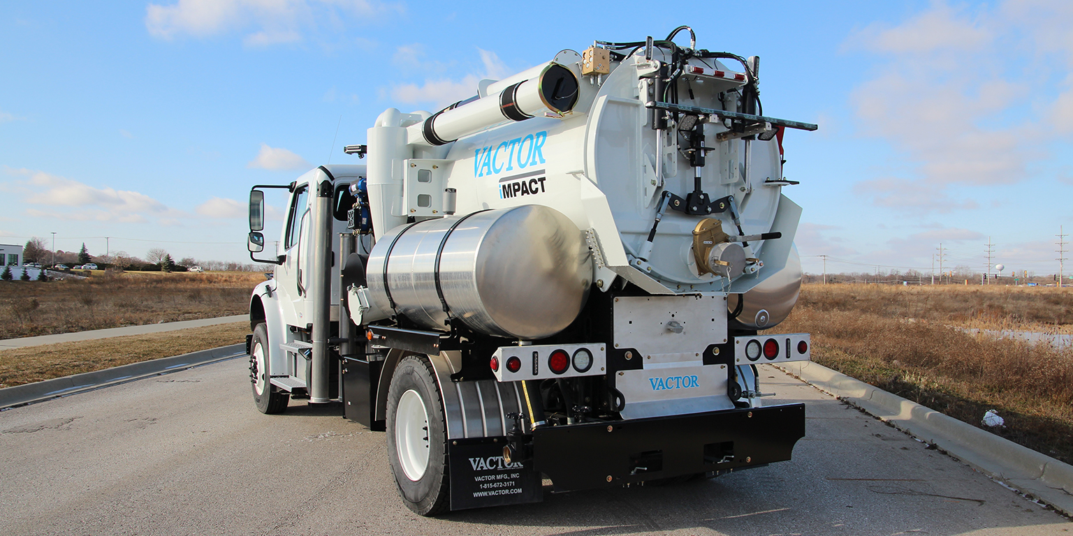 Vactor Introduces iMPACT™ Combination Sewer Cleaner